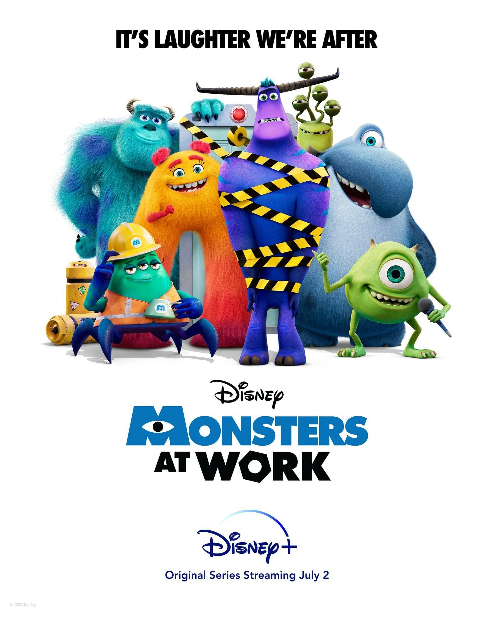 Monsters at Work teaser image