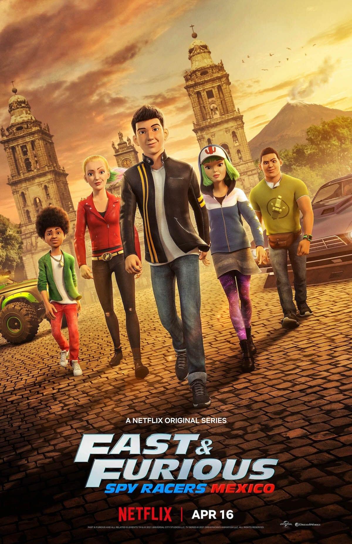 Fast & Furious: Spy Racers teaser image